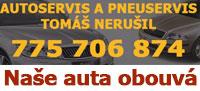 Autoservis a pneuservis Nerušil
